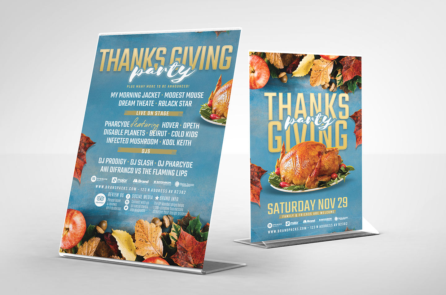 Thanksgiving Flyer Template example image 4