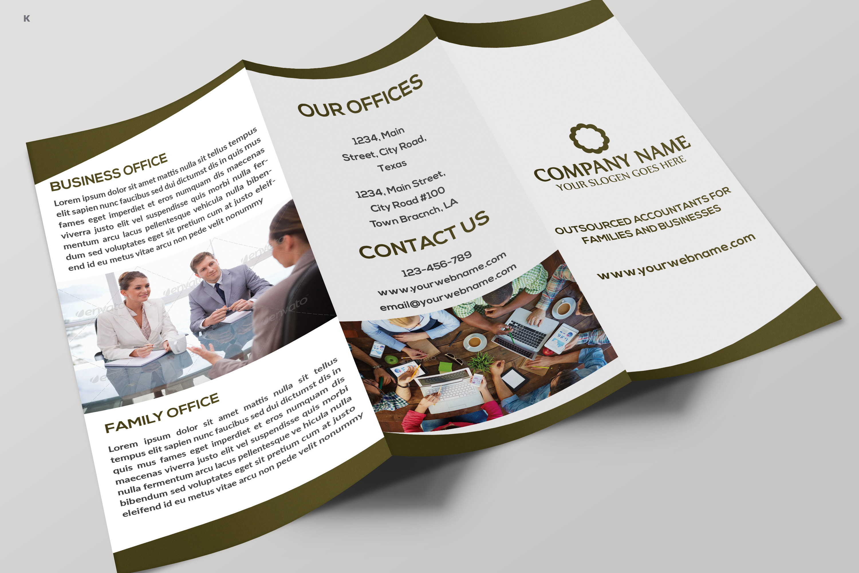 Business Trifold example image 8