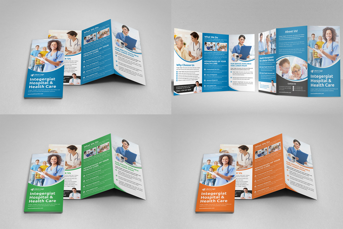 Medical HealthCare Brochure Bundle example image 16