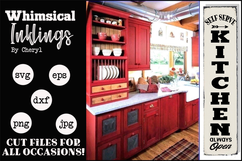 Self Serve Kitchen-Vertical SVG example image 1