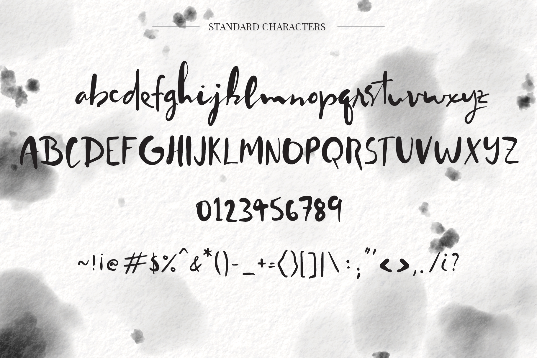 Worthy Story Script Font example image 2