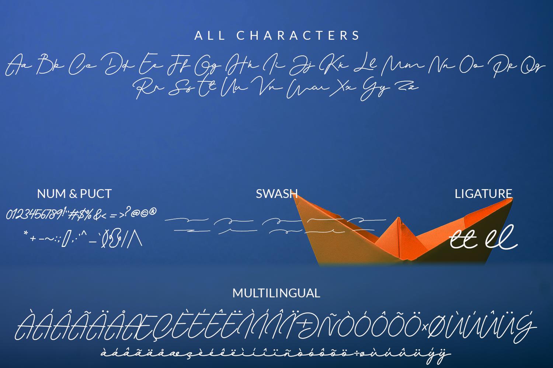 Monalisa Script example image 9