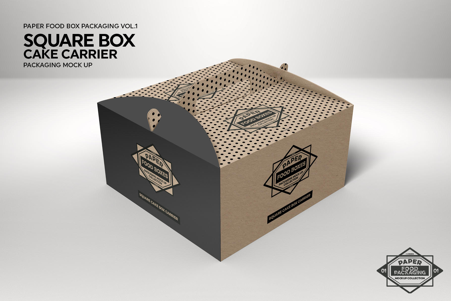 Vol 1 Food Box Packaging Mockups
