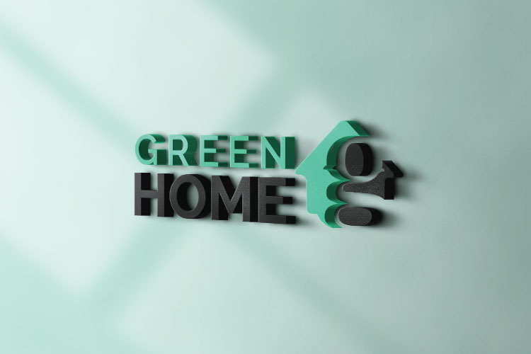 Green Home Letter G Logo example image 3