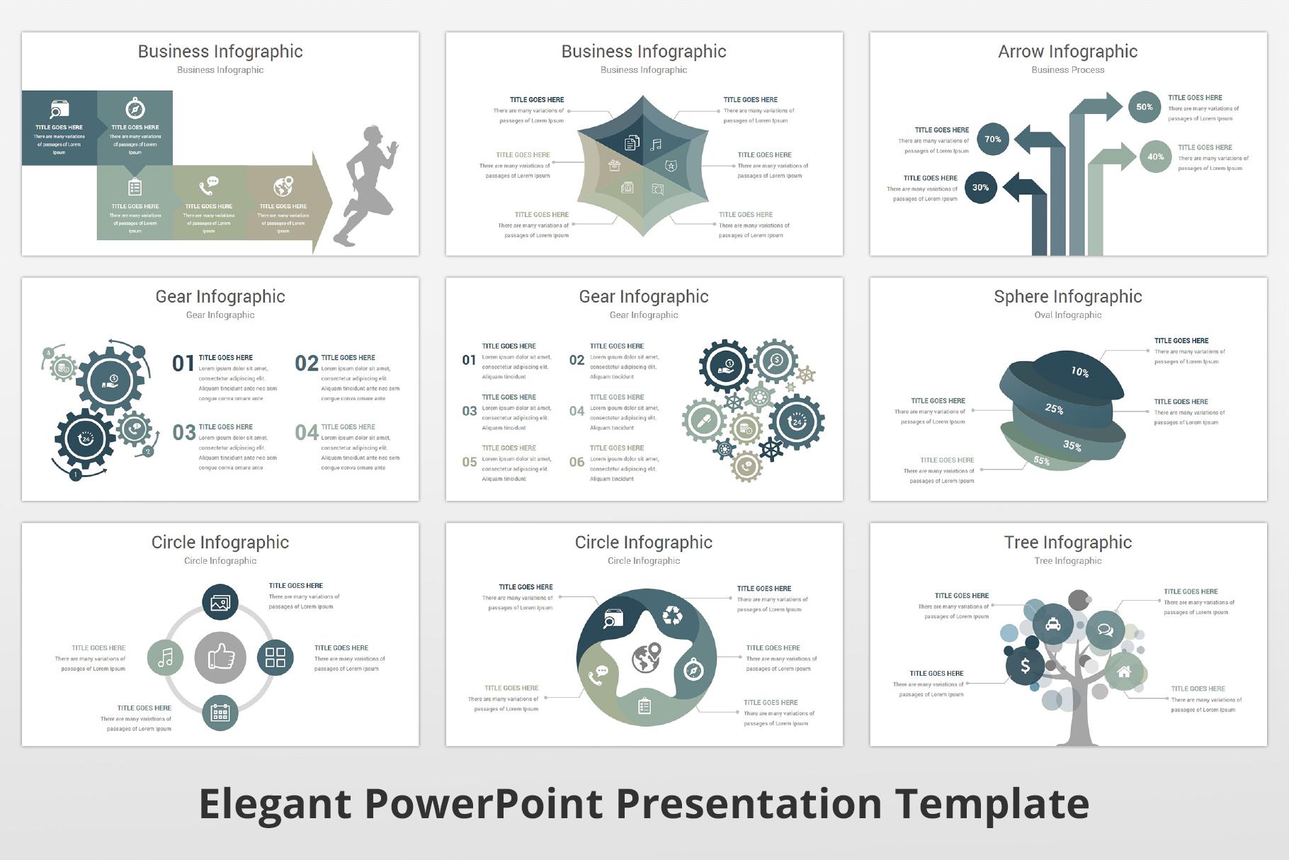 Elegant multipurpose PowerPoint Presentation Template example image 13