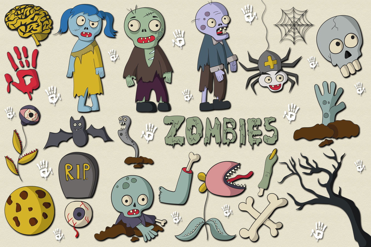 Funny Zombies example image 2