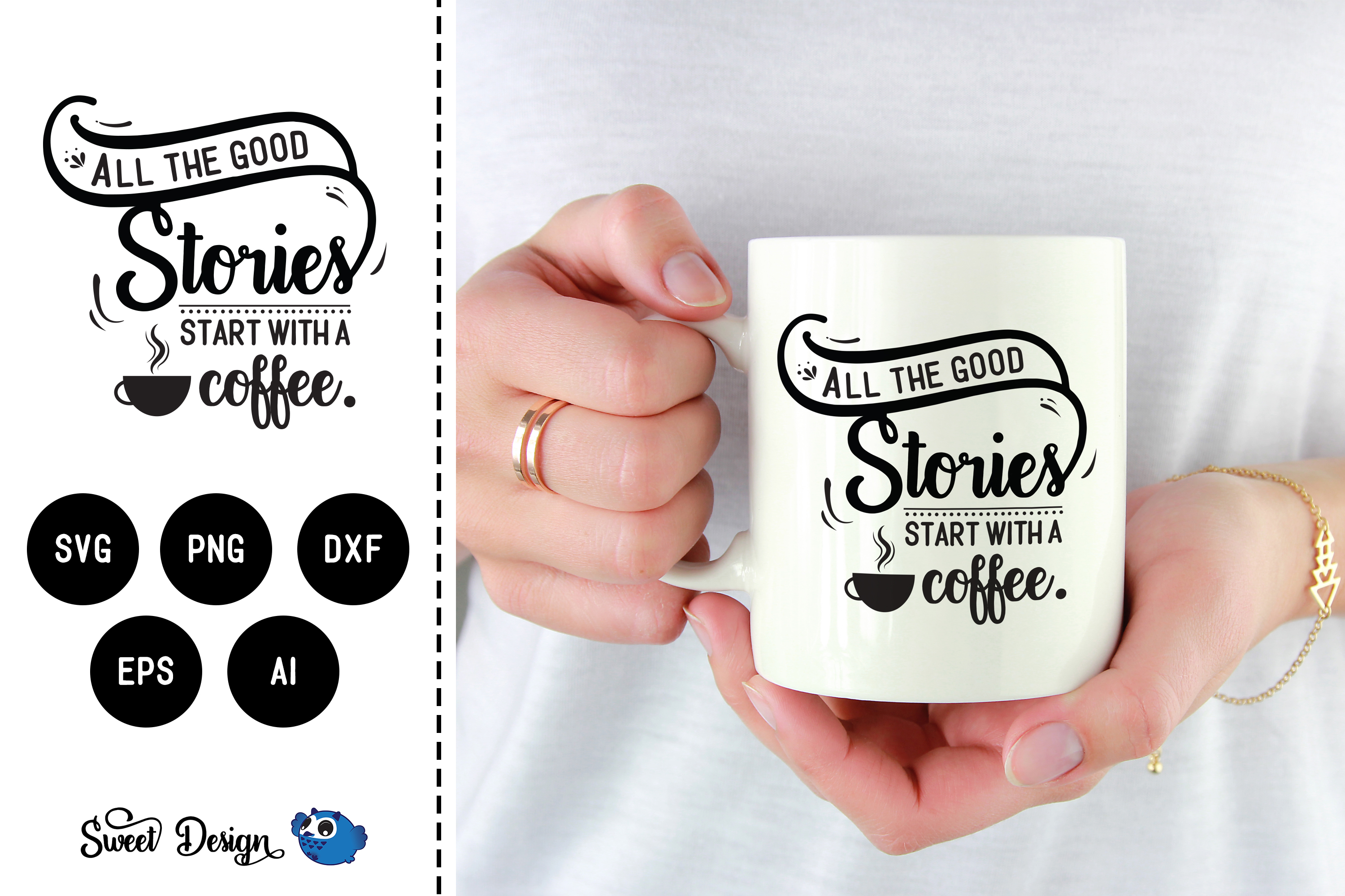 Good stories start with coffee example image 1