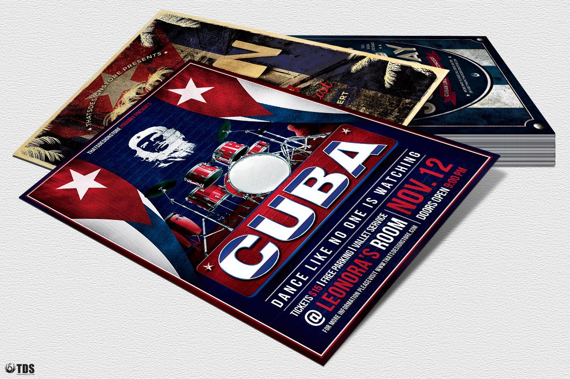 Cuban Flyer Bundle V2 example image 7