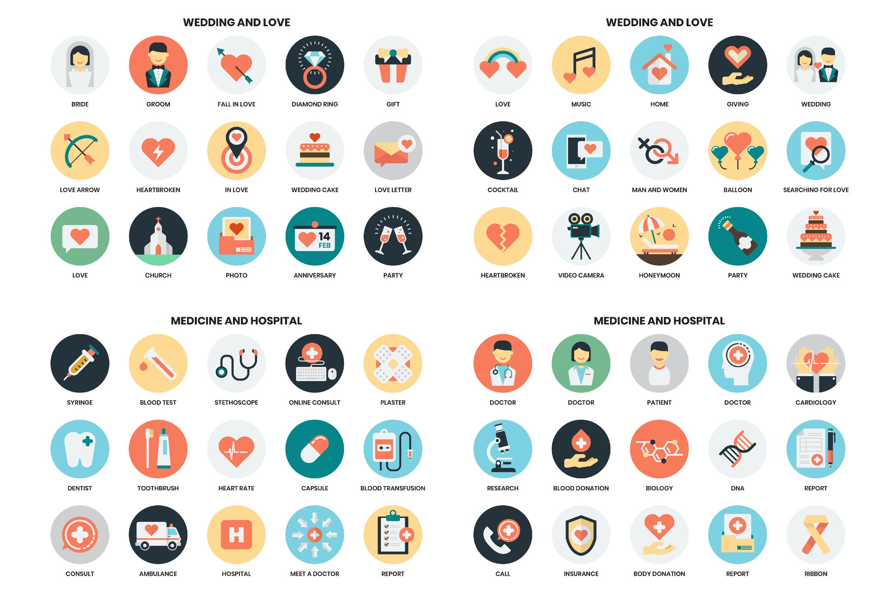 1155 PERFECT ICONS SET example image 14