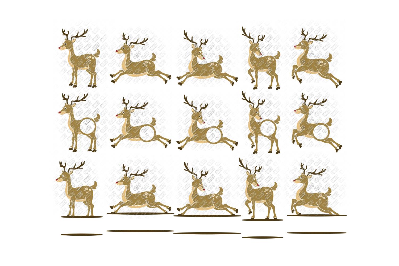 Reindeer SVG Bundle Antlers in SVG, DXF, PNG, EPS, JPEG example image 4