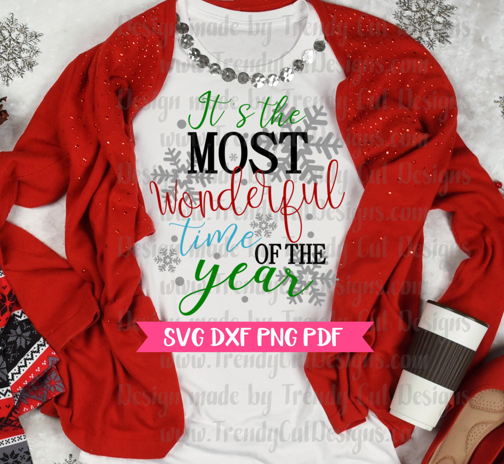 It's the Most Wonderful time of the Year SVG example image 2