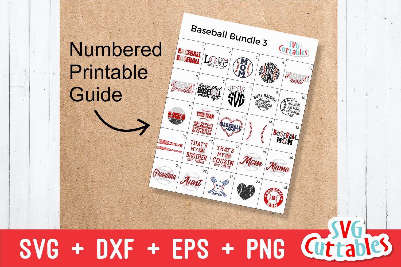 Baseball Bundle 3   SVG Cut File example image 23