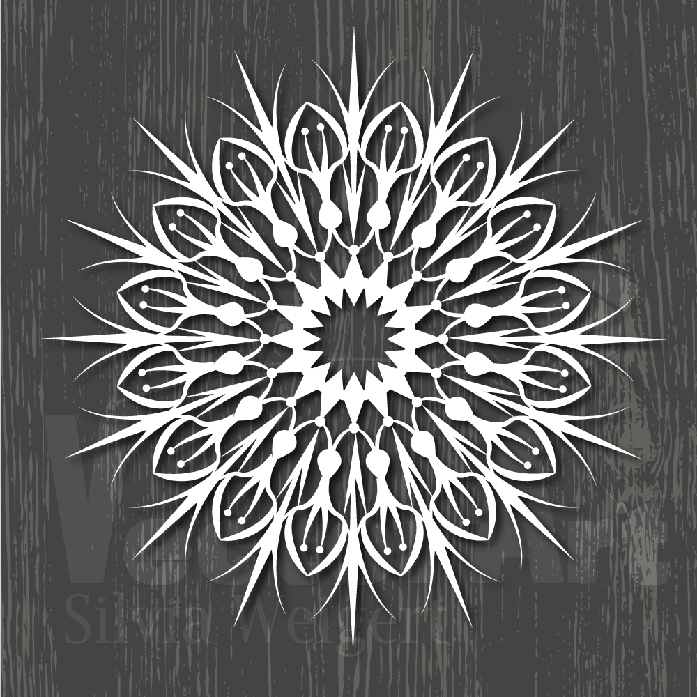 Mandalas SVG - Cut Files for Beginners example image 9
