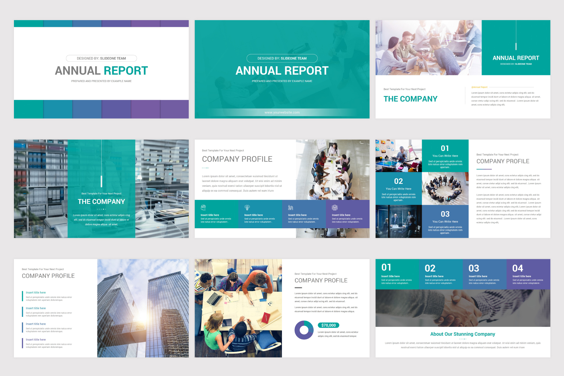 Annual Report Keynote Template example image 4