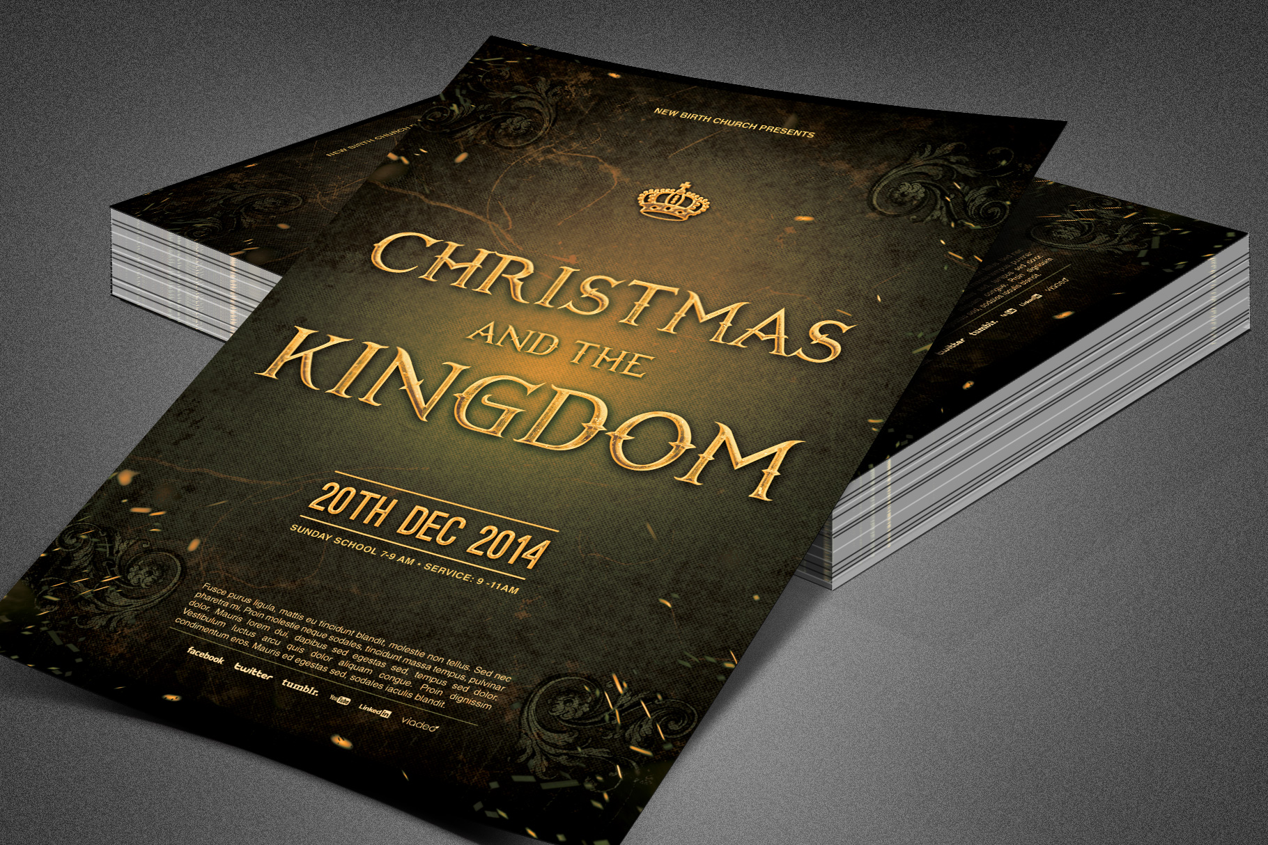 Christmas and the Kingdom Flyer example image 4