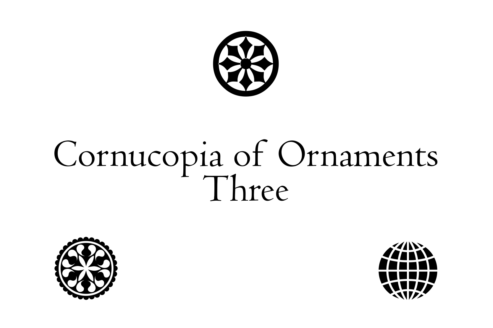 Cornucopia of Ornaments Three example image 3