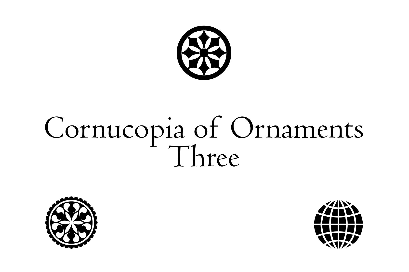Cornucopia of Ornaments Three example image 3