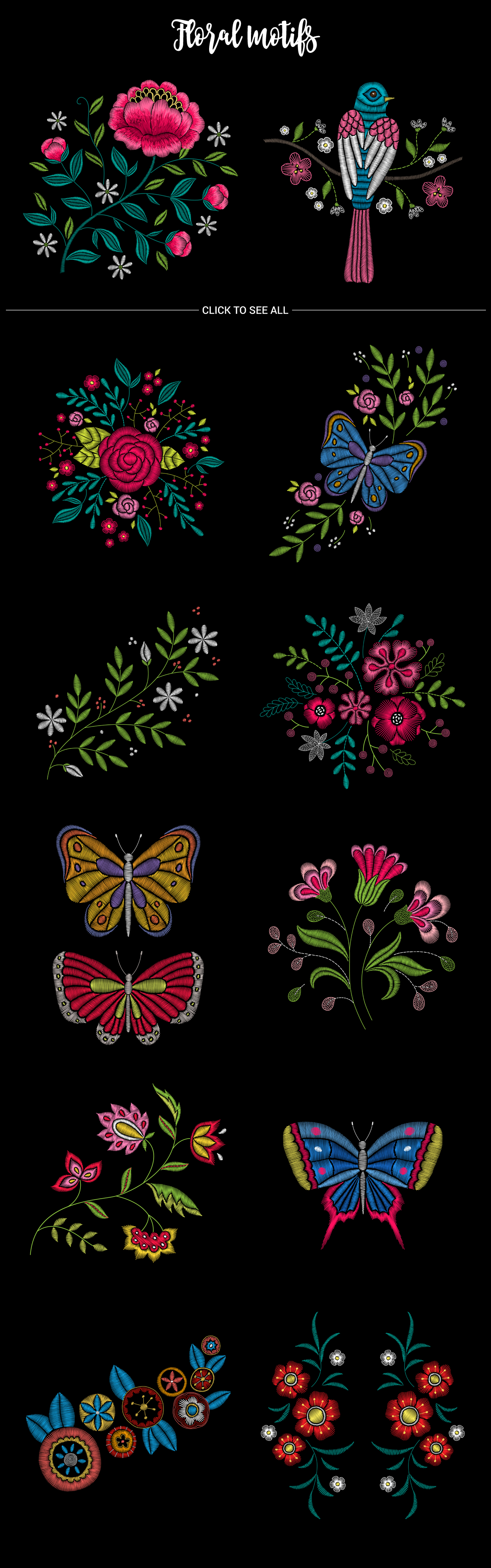 Huge Embroidery Bundle example image 3