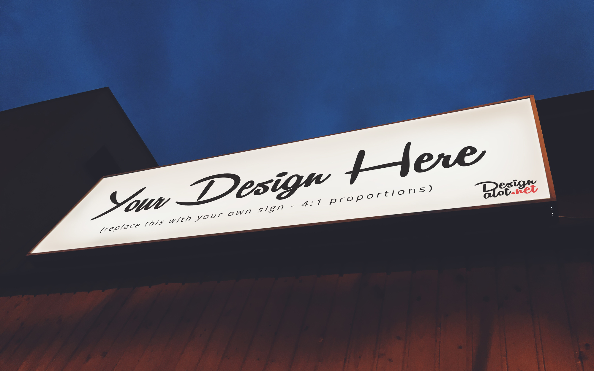 Outdoor Signs Mockups example image 6