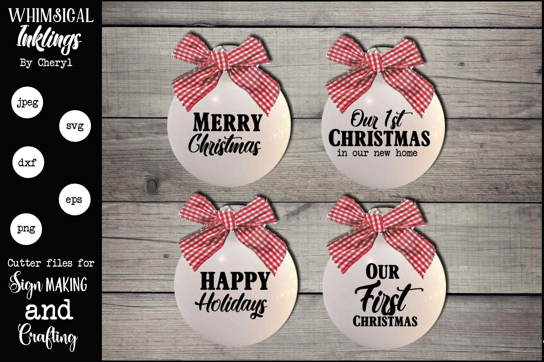 Christmas Cheer SVG Bundle SUPER SAVER example image 14