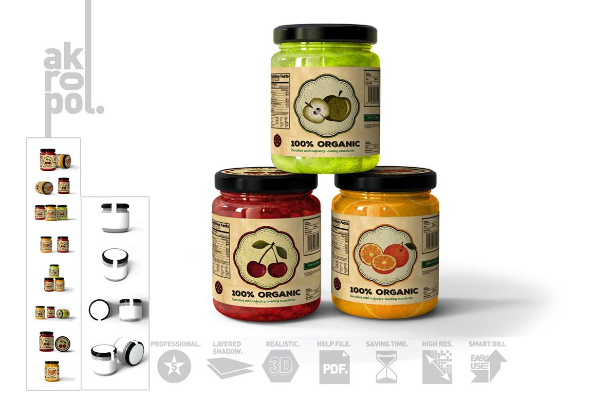 Jar Mock Up example image 12