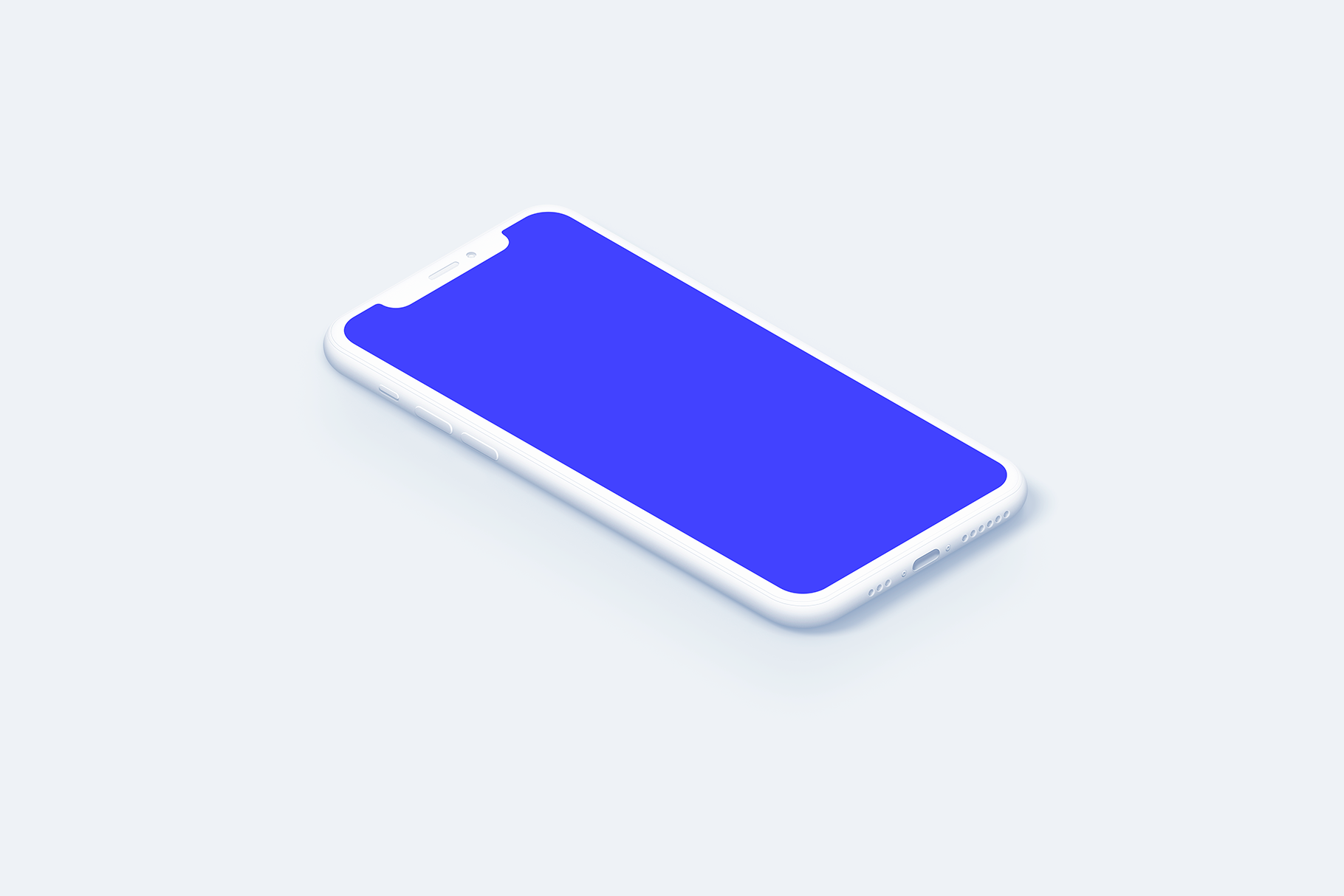 iPhone 11 Pro - 20 Clay Mockups Scenes - PSD example image 15