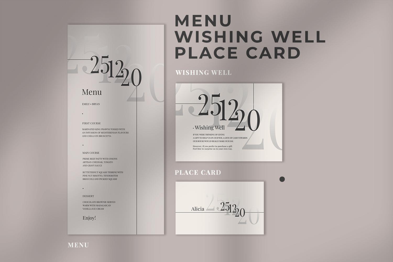 Modern Minimalist Wedding Suite example image 3