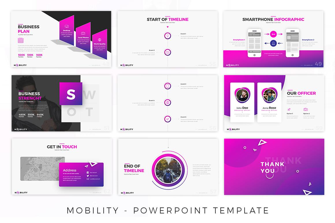 Mobility - Creative Presentation example image 7