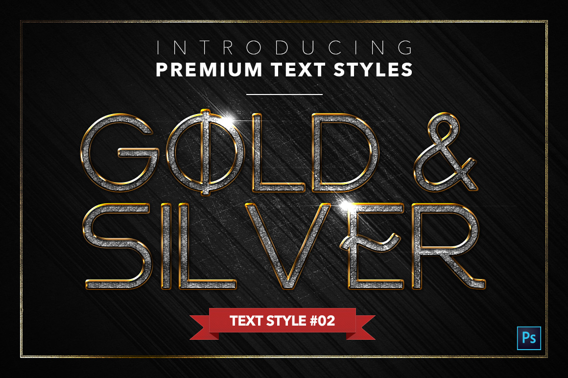 Gold & Silver #5 - 15 Text Styles example image 3