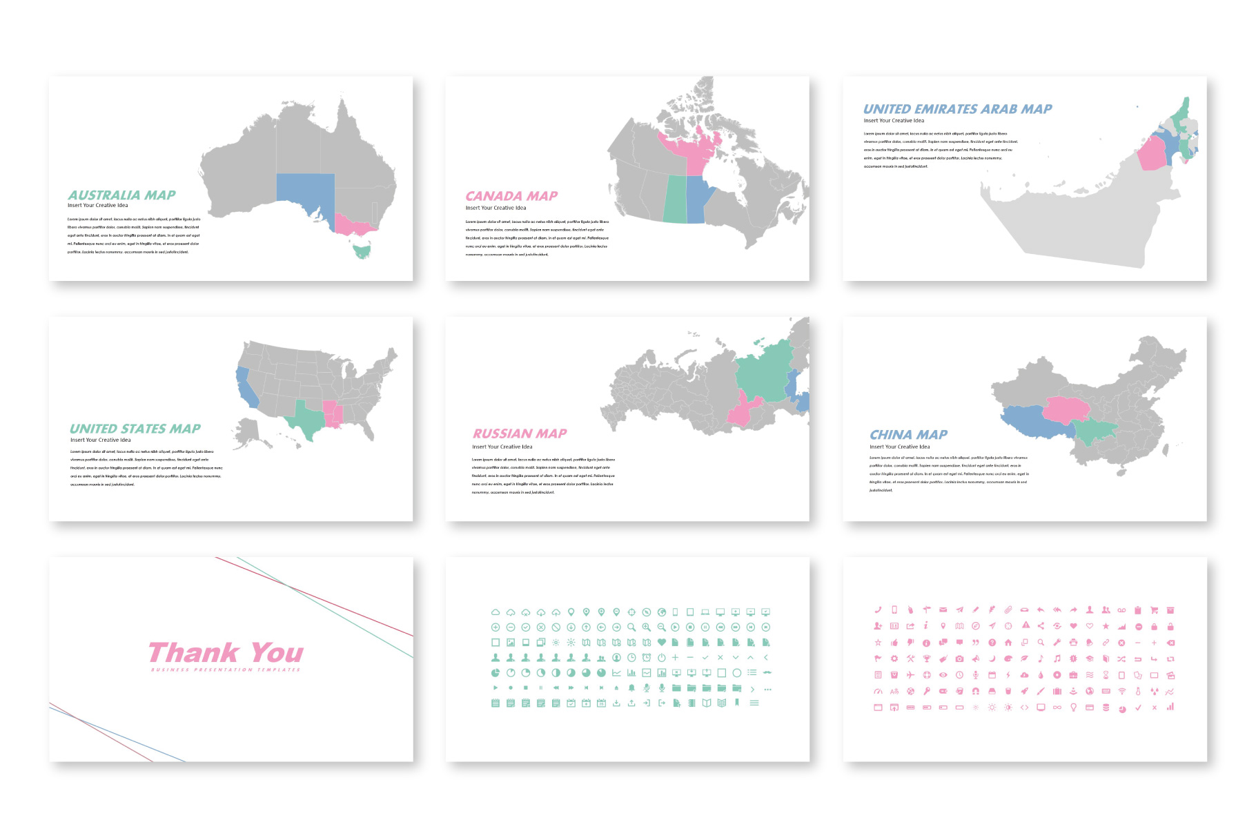 Fortune Creative Keynote Templates example image 6