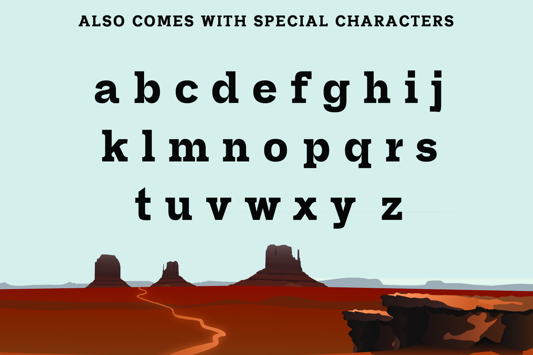 SHERIFF A Font of the Wild West example image 5