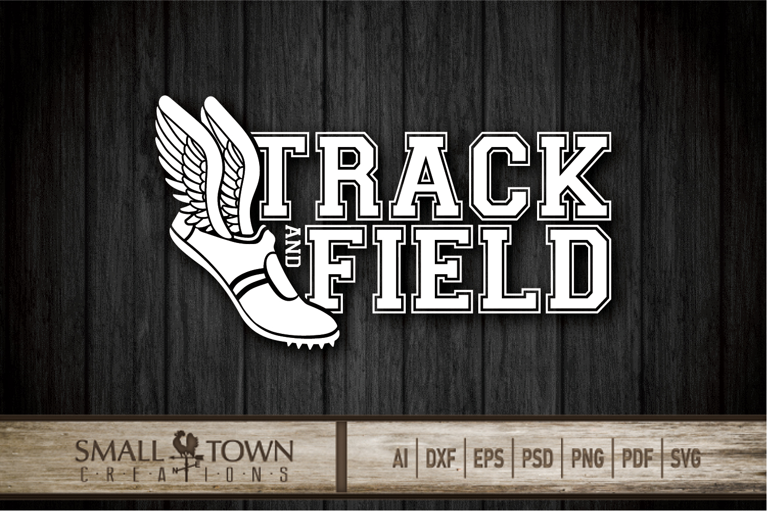 Track and Field, Team sport, Track logo, PRINT, CUT, DESIGN example image 9