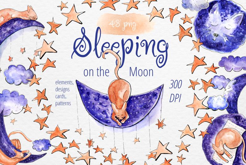 Sleeping on the Moon example image 1