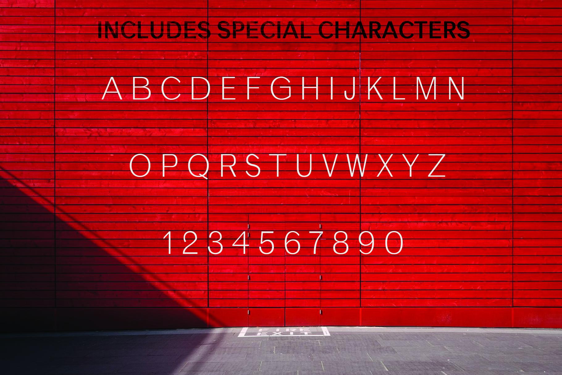 ANASTASIA, A modern typeface example image 9