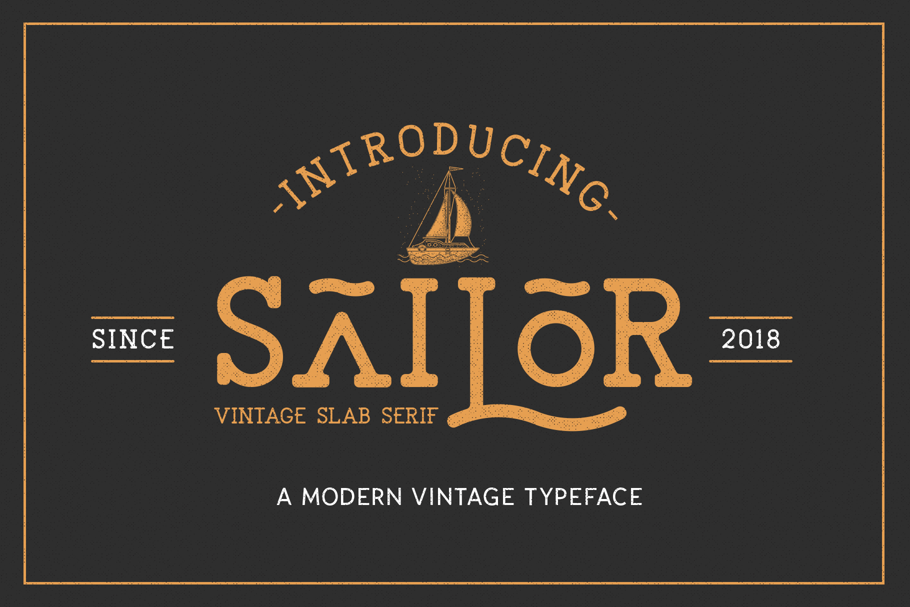 The Sailor Typeface example image 1