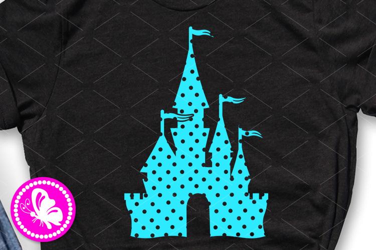 Magic palace svg Princess castle clip art Cricut png dxf eps example image 1