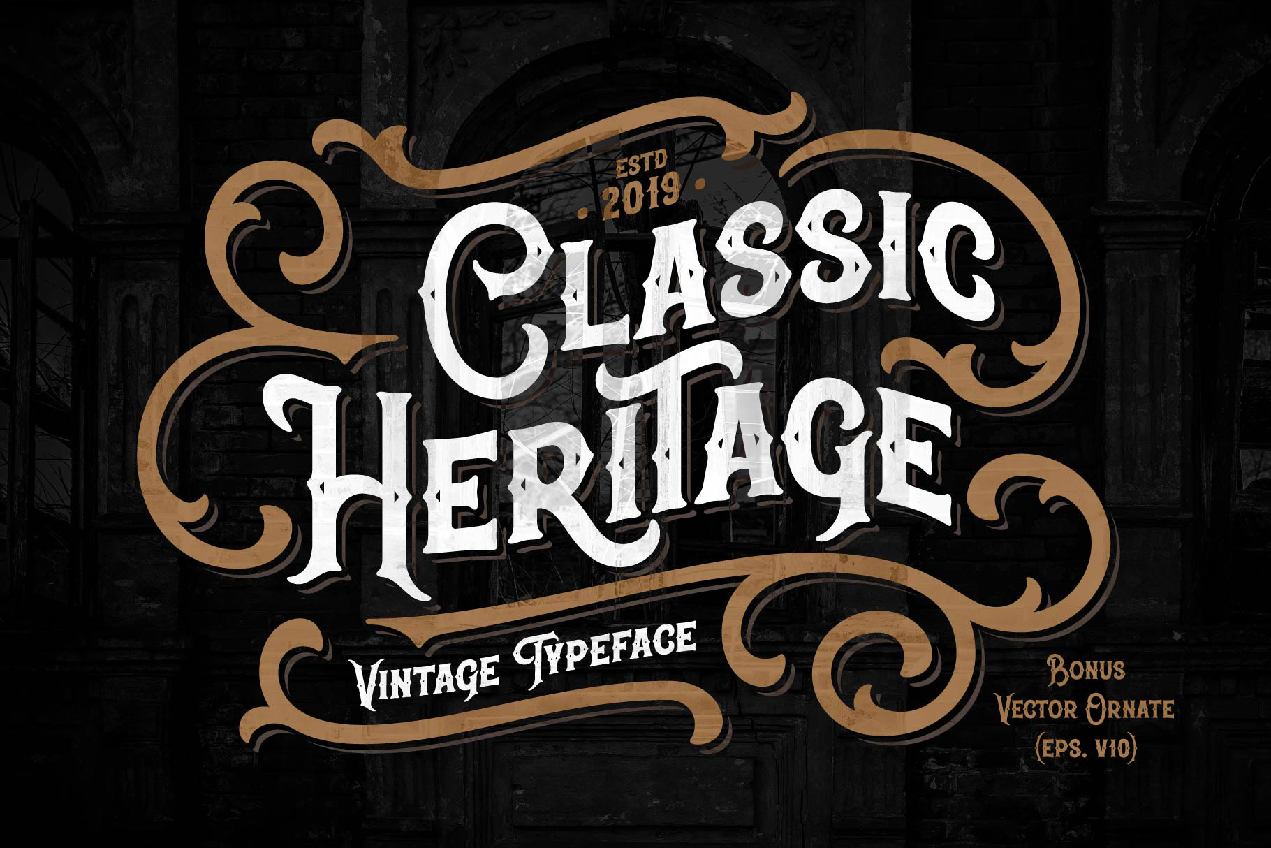 Classic Heritage typeface example image 1