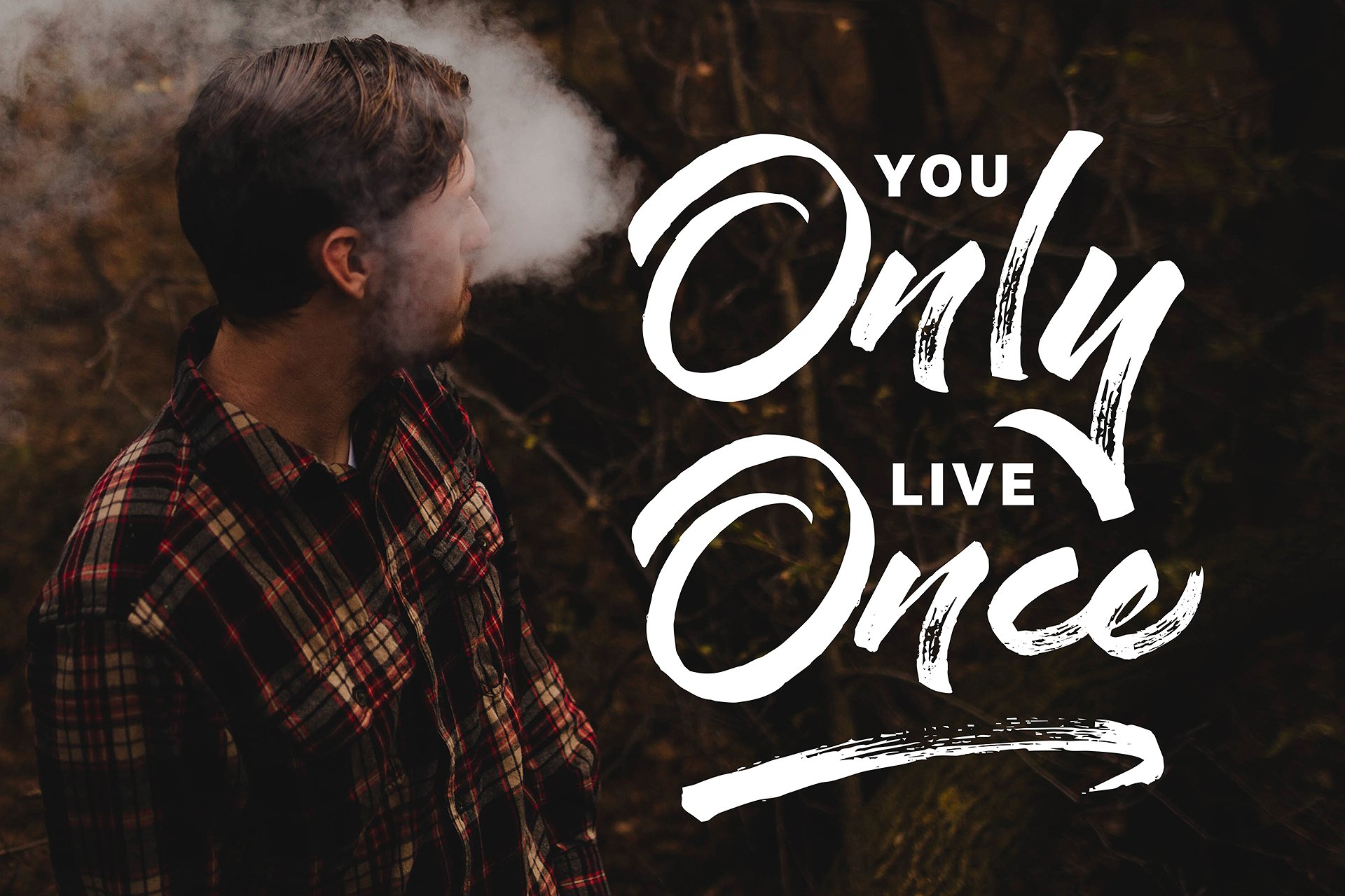 Staychill Brush Font example image 9