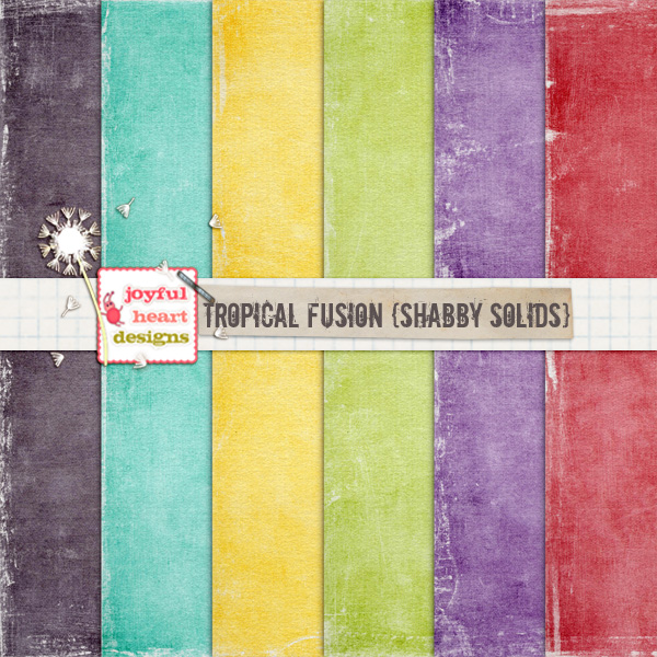 Tropical Fusion {shabby solids} example image 1