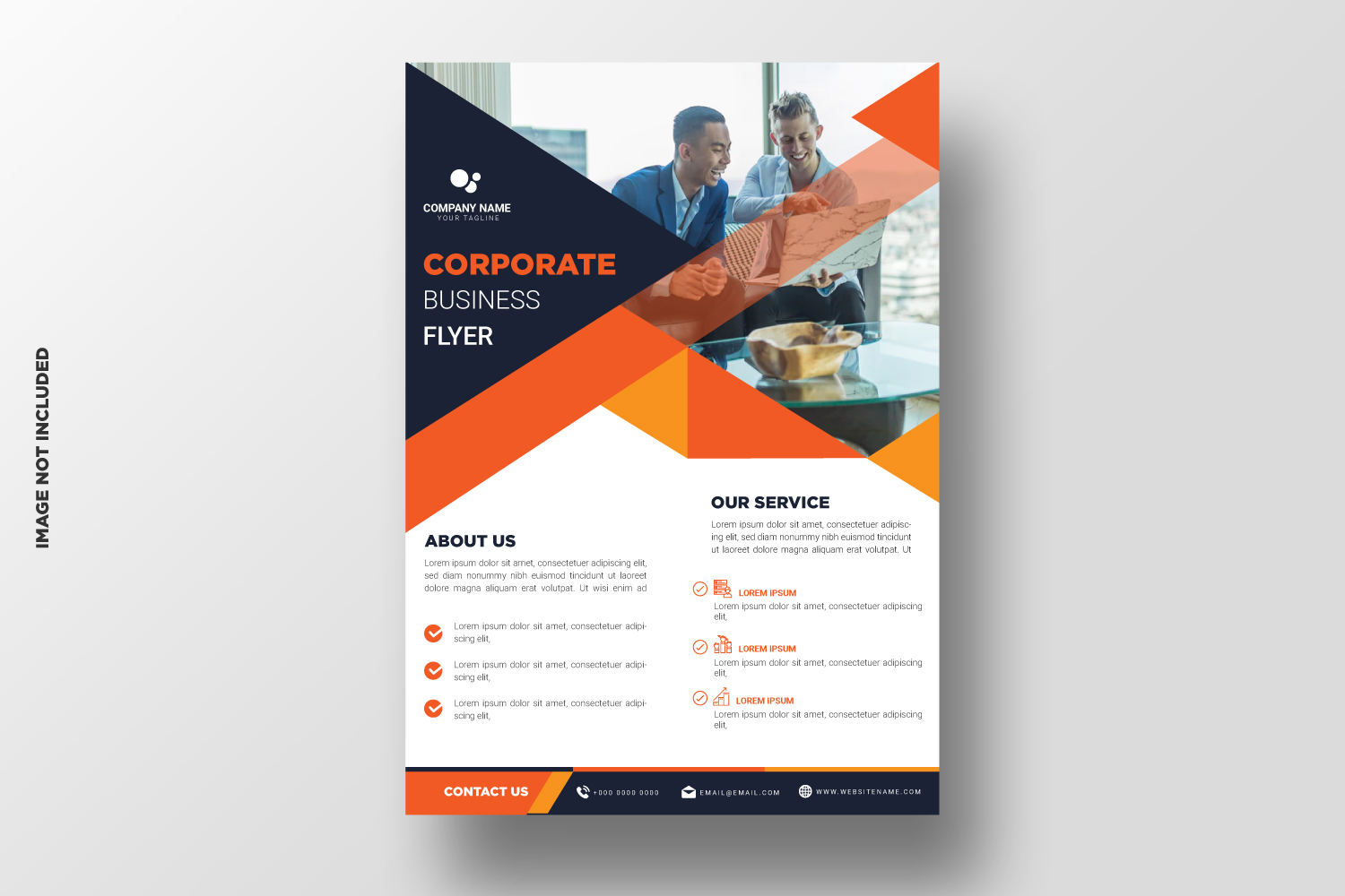 Business Flyer Template. Vol-11 example image 1