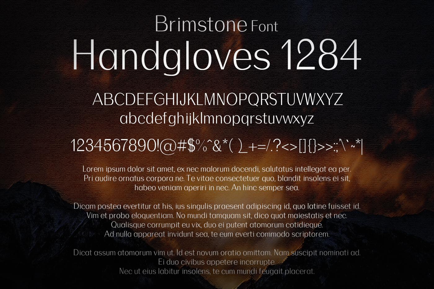 Brimstone Font example image 2