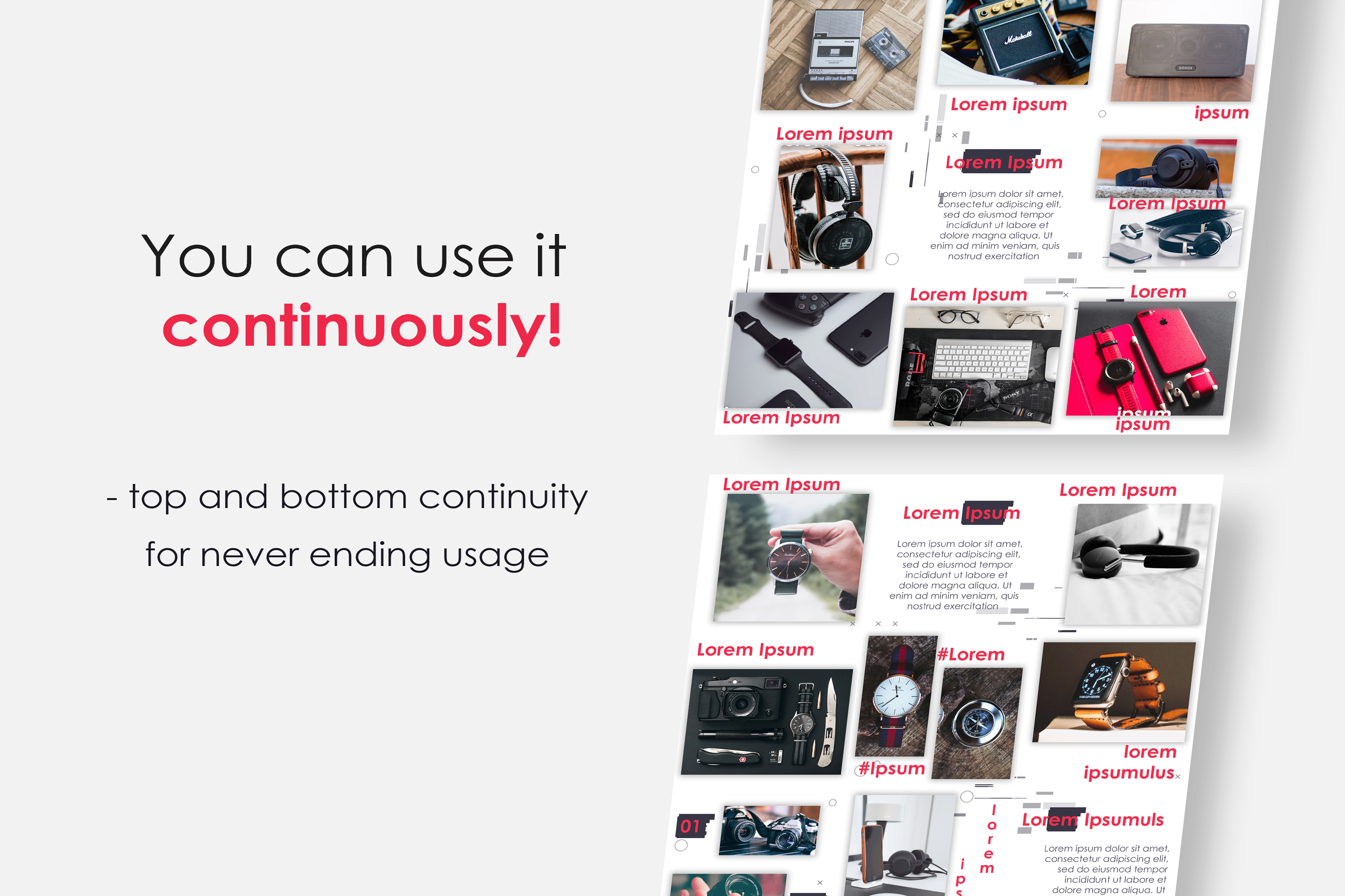 Instagram Puzzle Feed Template for Dropshipping #2 example image 2