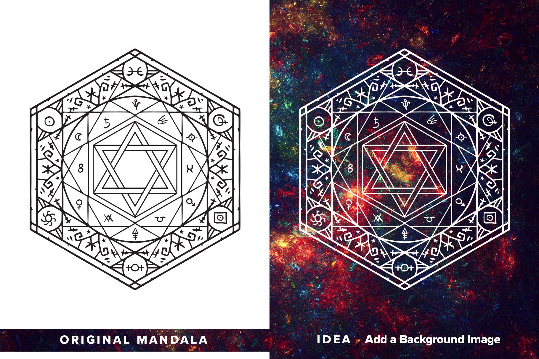 300 Vector Mandala Ornaments example image 5