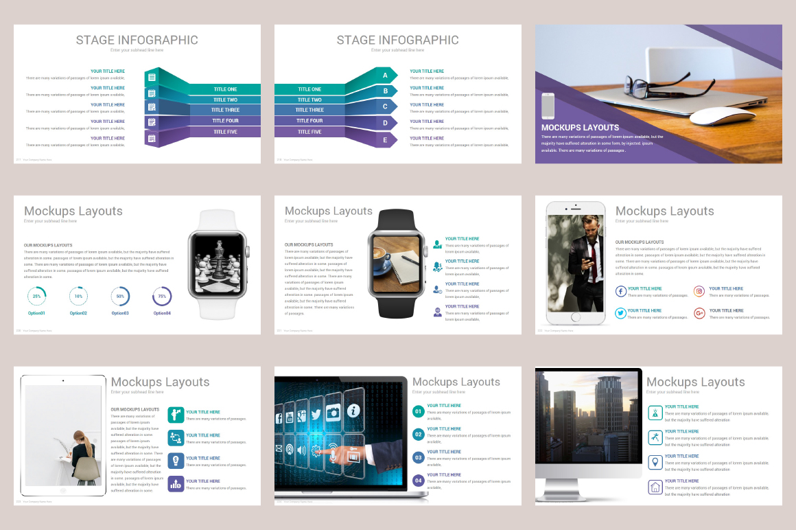 Zagros Keynote Template example image 29