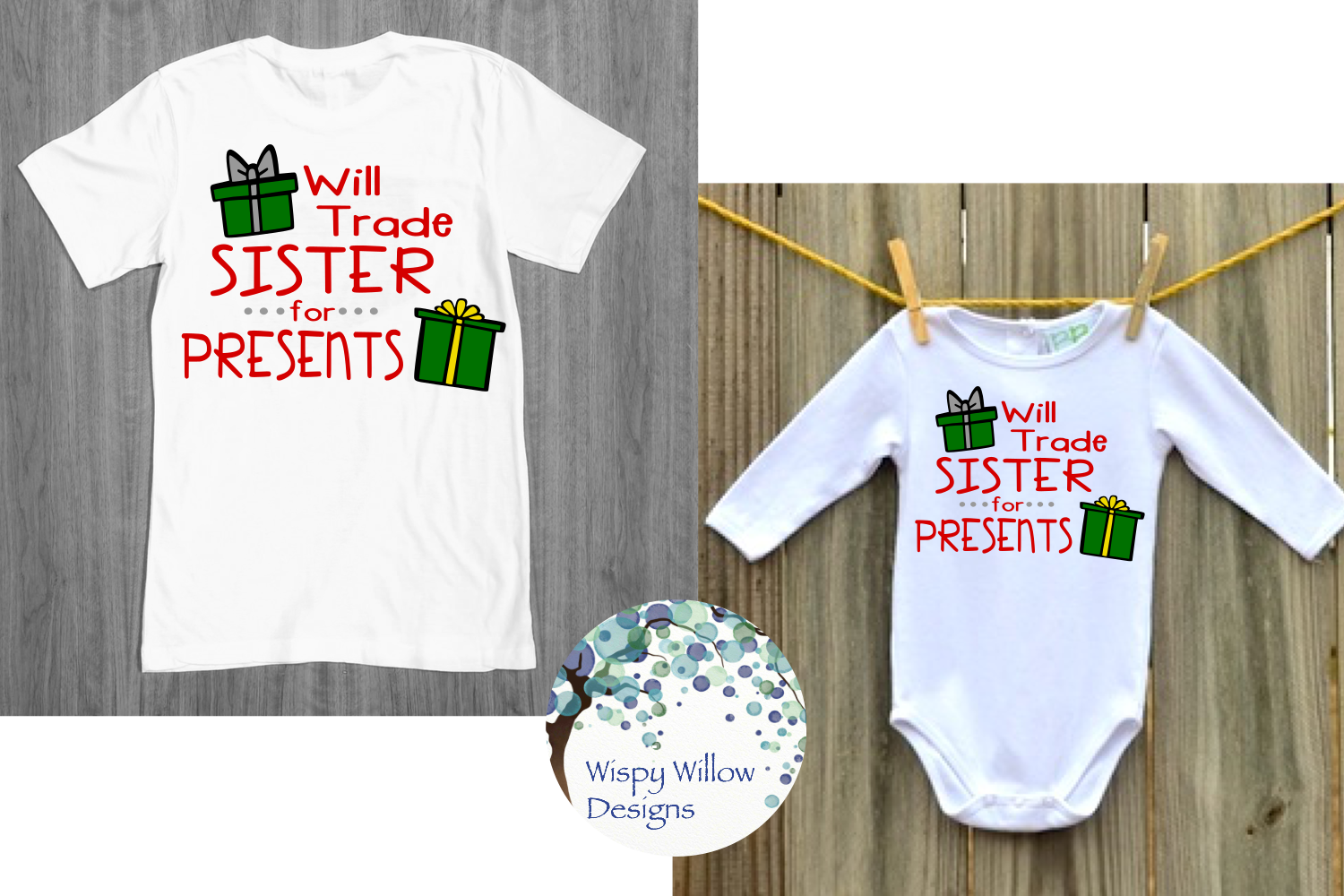Kids Christmas Shirt Bundle | Funny Christmas SVG Cut Files example image 12