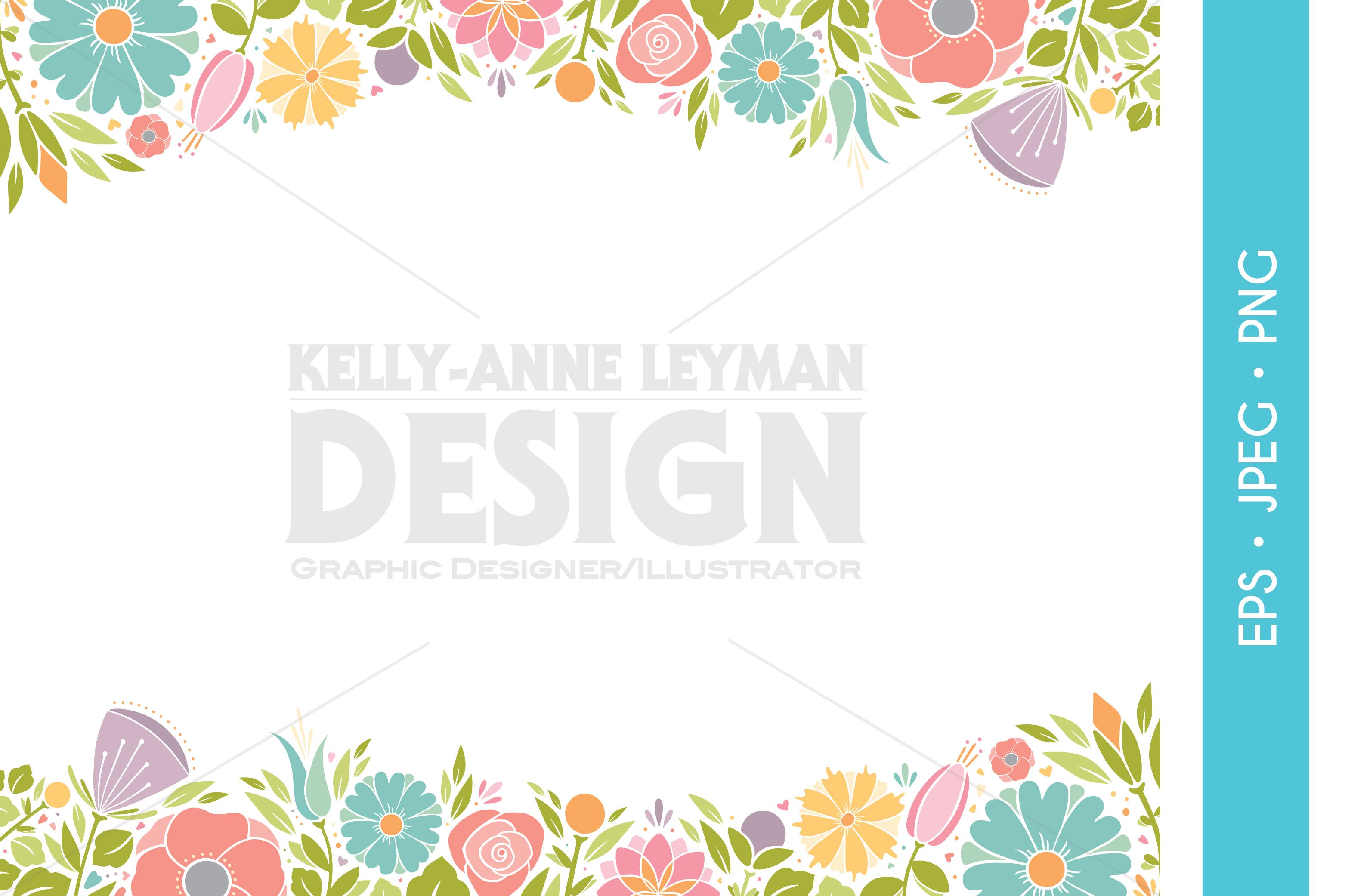 Spring Wedding Party Invitation Clipart Digital Flower Art
