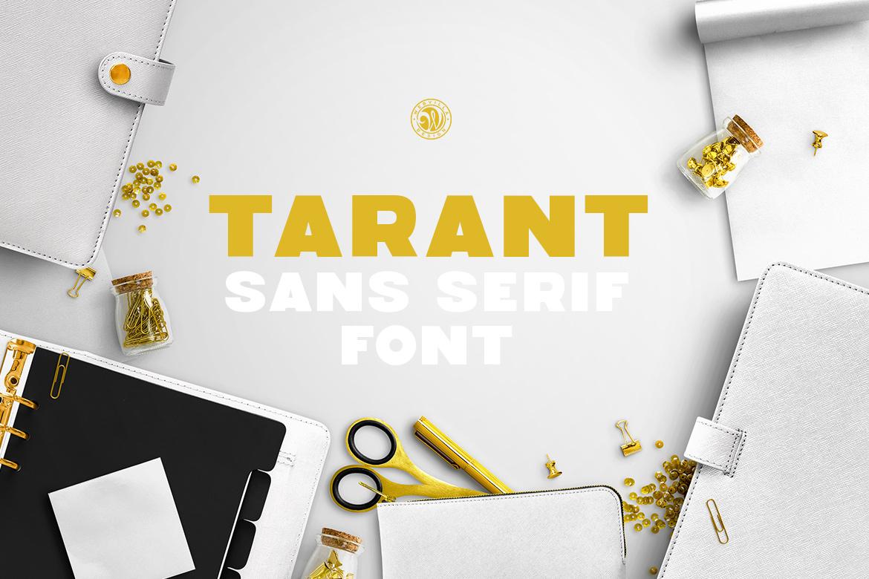 Tarant Font example image 2