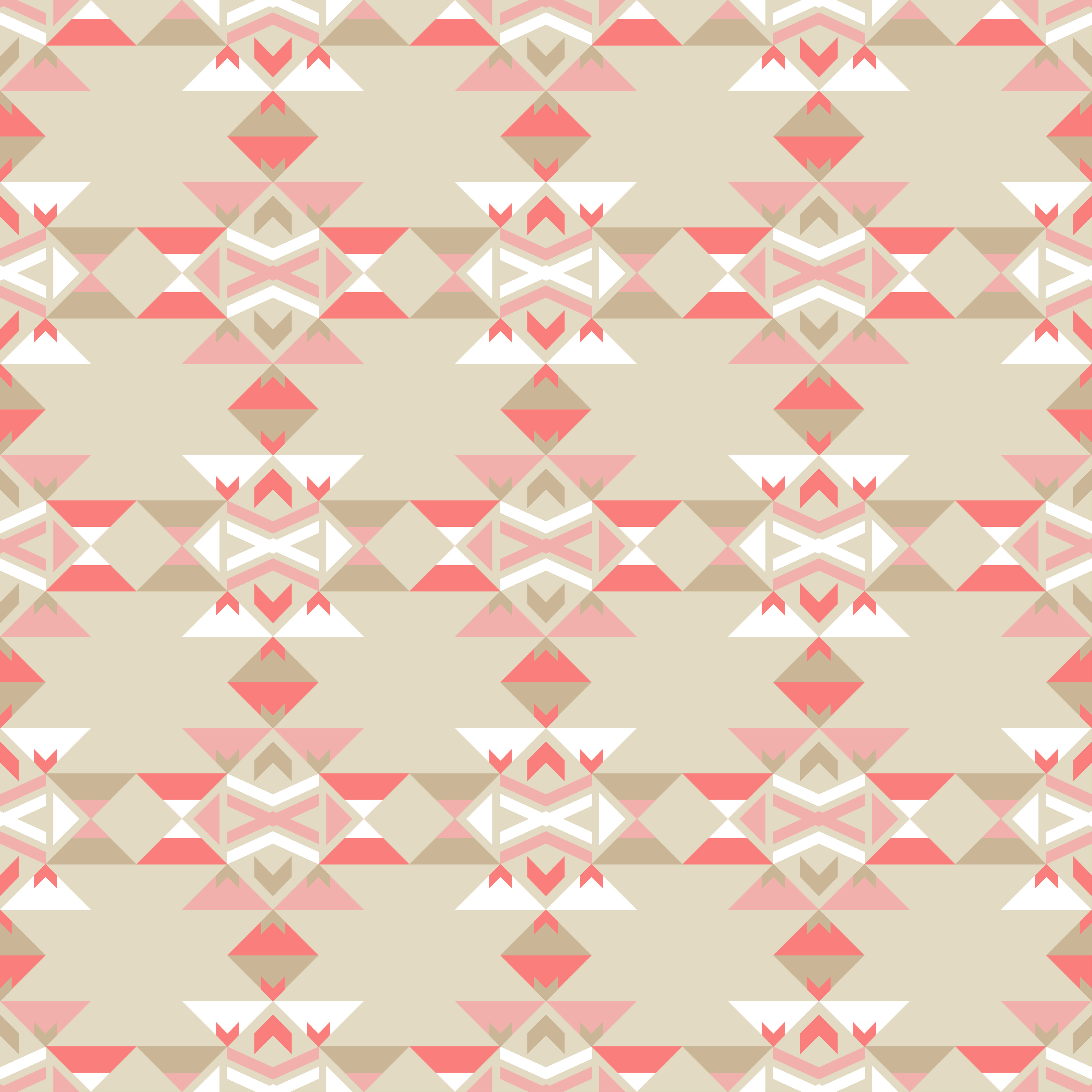 Set of 6 Ethnic boho seamless pattern. Tribal pattern.  example image 3