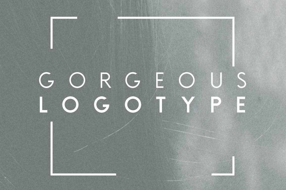Brooklyn | Two Weight Font Family example image 4