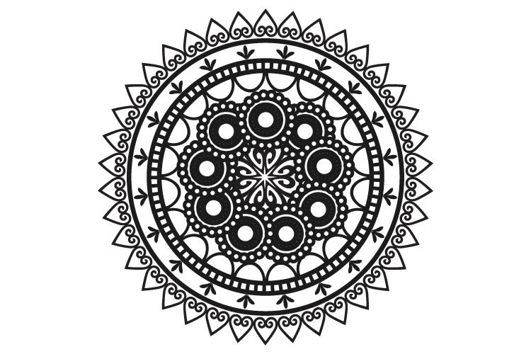 Mandalas. Round forms. example image 17